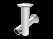 120° countersunk head semi-tubular rivets-Nonferrous metal