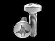 Cross recessed raised cheese head screws-Type H