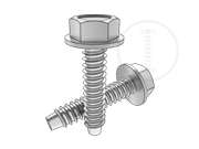 Hexagon washer head tapping screws-type F