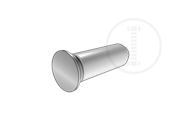 Guide pin-400 Series stainless steel