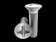 90°Cross recessed rasied countersunk head screws