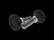 Type 2 plastic high knurled thumb screws