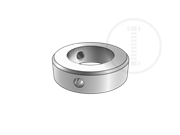 Type A lock rings with screw and circlip,d≤70