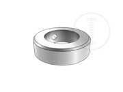 Type A lock rings with screw and circlip,d=150