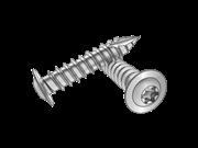Type 17T 6-Lobe round collar head screws-Table 1.2