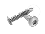 Type BSD 6-Lobe button head self-drilling and tapping screws-Table 1.2