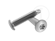 Type CSD 6-Lobe button head self-drilling and tapping screws-Table 1.2