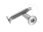 Type BSD 6-Lobe trumpet head self-drilling and tapping screws-Table 1.3