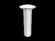 140° oval head rivets