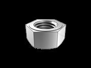 Single chamfered hexagon nut,style 2
