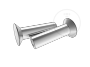 100° countersunk head rivets with cup point