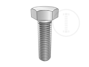 Metric hexagon bolts