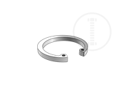 A type elastic retaining ring for hole