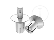 Metric 100 deg countersunk head drive rivets-Table 4