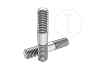 Type 2 double end studs(L>6)-Table 1
