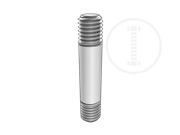 Type 3 double end studs(L≤6)-Table 1
