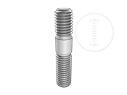 Type A double end studs b1=1d