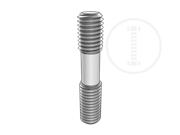 Type B double end studs b1=1d