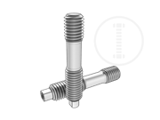 Type BS double end studs with hole-Type I