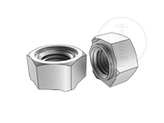 Class 5 hexagon weld nuts with type 1A-Table 1-1