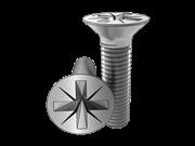 Cross recessed close tolerance 100-deg countersunk head screws-Table 6