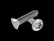 6-Lobe 90°oval head rolling screws