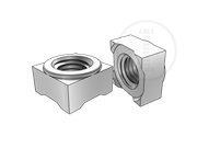 Class 5 weld square nuts with type 1C-Table 2