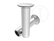 120 deg flat countersunk head semi-tubular rivets-Table 5