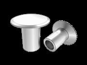 150 deg large flat countersunk head semi-tubular rivets-Table 4